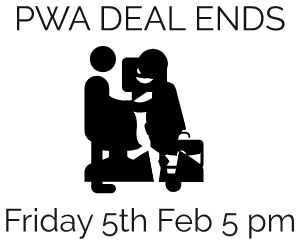 PWA deal ends Friday 5th February